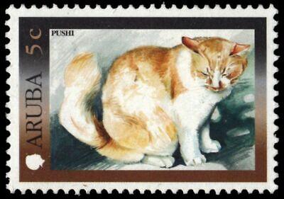 "ARUBA 197 - Tourism ""Domestic Cat"" (pb18911)"