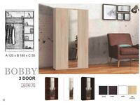 🎉😍Furnish Your Dreams Order Now✌🚛New STYLISH Design 2 And 3 Door WARDROBE Available💜In Stock!
