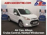 2015 15 FORD TRANSIT CONNECT 1.6 200 LIMITED 115 BHP BLUETOOTH PHONE CONNECTIVIT