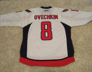 Authentic Autographed x2 Ovechkin Jersey