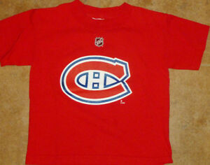 SIZE 5/6 - REEBOK NHL Montreal Canadiens Tee (Like-New)