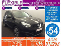 2013 NISSAN QASHQAI 2.0 DCI TEKNA AUTO GOOD / BAD CREDIT CAR FINANCE AVAILABLE