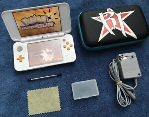 New 2DS_XL - With_Pokemon Ultra MOON / SUN & More...