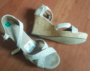 Tom's Wedges Size 12- Brand New, Tags Still On!