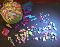 Polly Pocket collection lot (1) & (2)