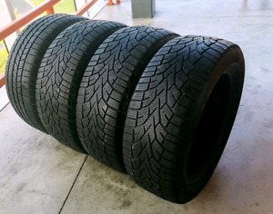 Set of four 235/55/17 (215/60/17) winter tires
