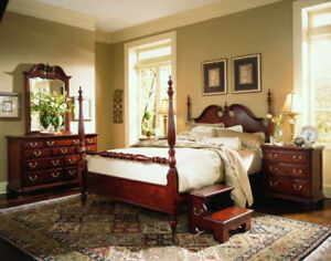 Queen Anne posterbed set