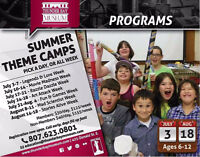 Thunder Bay Museum Summer Camps