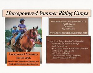 Summer Horseback Riding Camps & Lessons