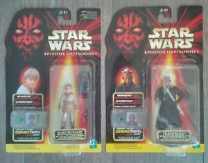10 different Star Wars action figures new still sealed
