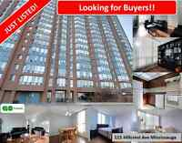 Beautiful Two BR Condo Apartment, Right At Cooksville Go Station
