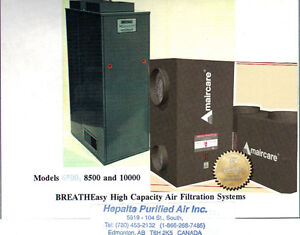 AWW675 AMairCare CENTRAL HEPA AIR SCRUBBER(DR. APPROVED)