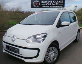 2012 (62) VOLKSWAGEN UP! MOVE UP 1.0 5DR - 2 OWNERS - FULL VW S/HIST - £20 TAX!