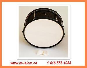 Snare Drum - 5.5x14 Black www.musicm.ca