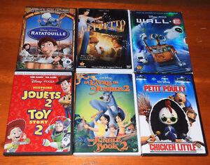 Films DVD's Disney et autres pour Enfants