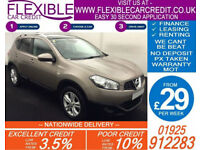 2010 NISSAN QASHQAI 1.5 DCI N-TEC GOOD / BAD CREDIT CAR FINANCE AVAILABLE
