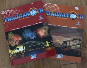 Panoramath secondaire 1 manuel A et B à vendre