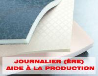 Journalier (ère) – Aide Production