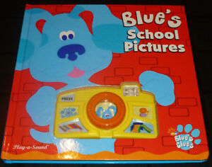 BLUE'S CLUES - Blue's School Pictures Play-A-Sound Book