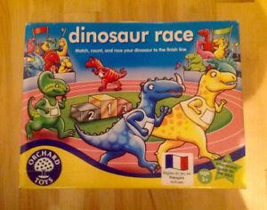 Jeu de société Dinosaur Race