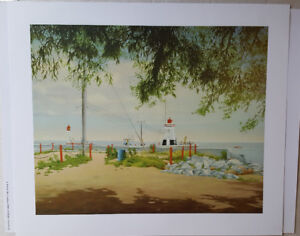 Port Dover lighthouse print