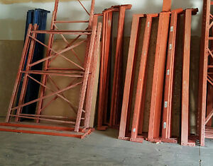 Used Industrial Shelving & Forklift