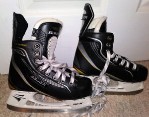 Kids size 2 , Eur 35 Bauer Supreme One40 Skates fits shoe size3