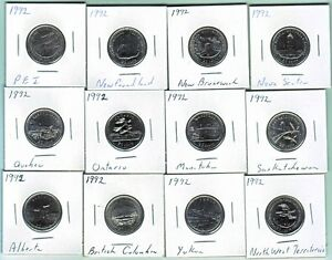 Canada Commemorative quarter coins 1967-2015 Windsor Region Ontario image 5