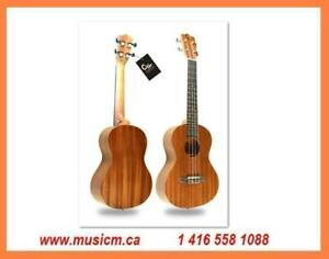 Ukulele Mandolin and Banjo www.musicm.ca Brand New Quality Instruments With Warranty Folk Instruments Concert Tenor Size