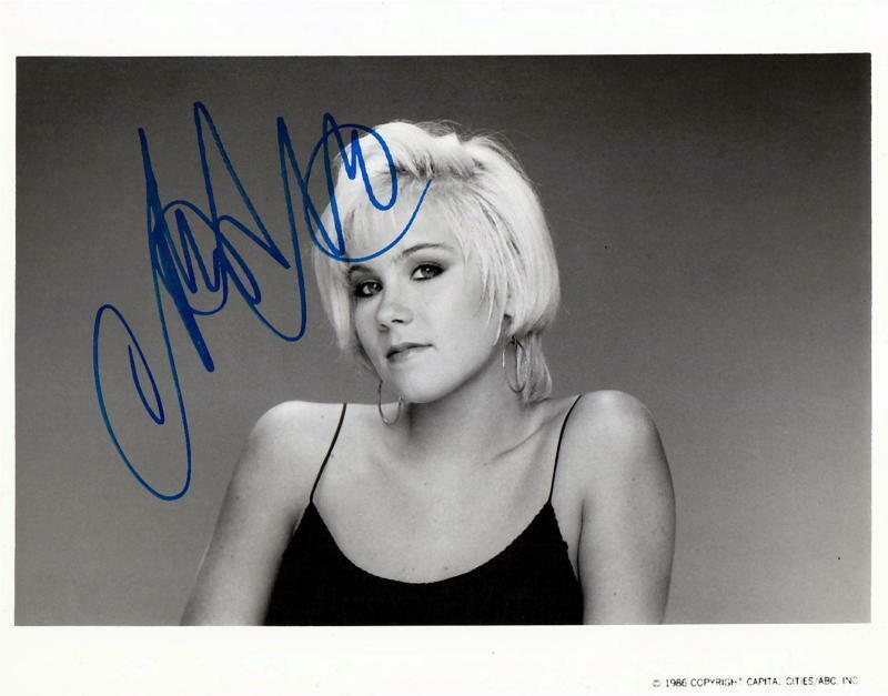 CHRISTINA APPLEGATE.. Heart Of The City -  SIGNED