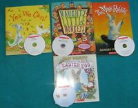 4 Primary Reading Books misc with Cds