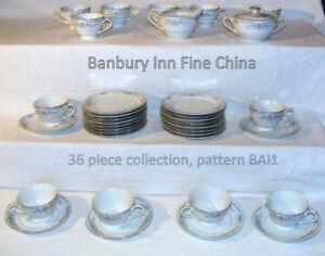 Vintage Banbury Inn Fine China, pattern BAI1, 36 pieces,1962