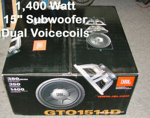 Brand new JBL Car Audio gear