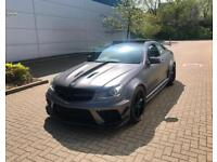 2012 62 Mercedes-Benz C63 AMG 6.3 Coupe + BLACK SERIES WIDE STYLING BODY KIT +