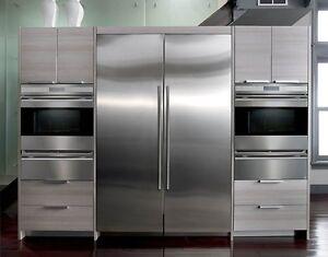 """Refrigerateur et congelateur 54"""" Subzero IC27R et IC27Fi / 2012"""