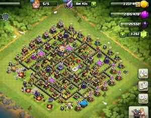 High Level Clash of Clans (TH 11) and Max Boom Beach Accounts