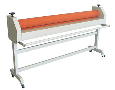 63in Manual Laminator Cold Laminating Machine For Advertising Photograph