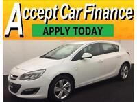 Vauxhall/Opel Astra 1.4i VVT 16v ( 100ps ) 2013MY SRi FROM £33 PER WEEK !