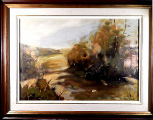 Hans Herold -- Vintage original Canadian oil painting