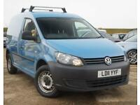 2011 VOLKSWAGEN CADDY 1.6 TDI AUTOMATIC FULL HISTORY + JUST SERVICED **NO VAT**
