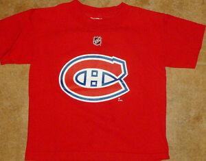"Size 5/6 • REEBOK NHL Montreal Canadiens ""Price #31"" Tee"