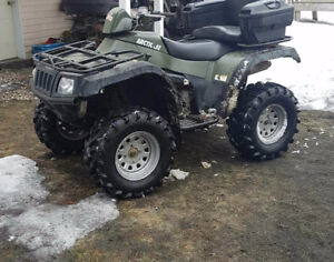 Parting out 2004 arctic cat 650 v2