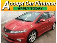 Honda Civic GT FROM £33 PER WEEK!