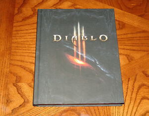 Hardcover Diablo III Strategy Guide Console Version