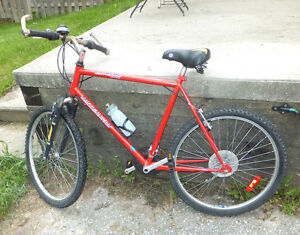 Red Millennium Bike Made in Canada - Good Condition