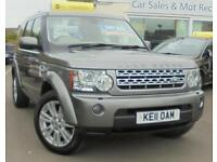2011 LAND ROVER DISCOVERY 3.0 TDV6 HSE Auto