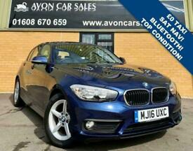 2016 BMW 1 Series 1.5 116D ED PLUS 5d 114 BHP - 0 ROAD TAX! LOW MILEAGE! SAT NAV