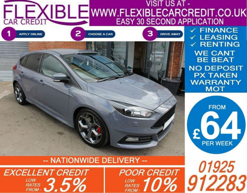 2015 ford focus 2 0 t st 3 good bad credit car finance. Black Bedroom Furniture Sets. Home Design Ideas