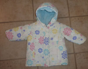 Old Navy winter coat, size 12 - 18m, excellent condition
