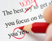 Document writing and editing - efficient, discreet, eye catching